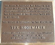 San Dimas Rodeo - Tex Shoemaker